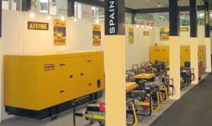 Экспозиция компании Ayerbe на выставке в Дубае