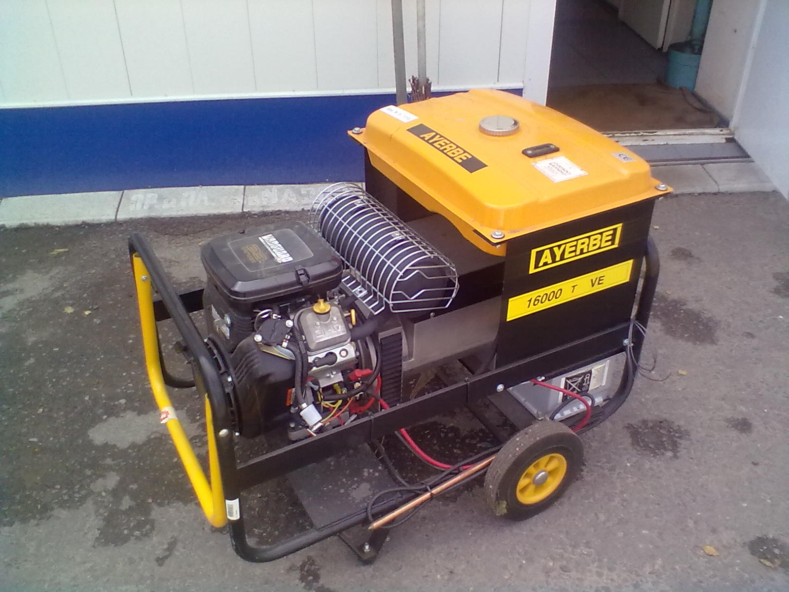 Поставка генераторной установки AYERBE AY 16000 KE на АЗС в г. Ржев