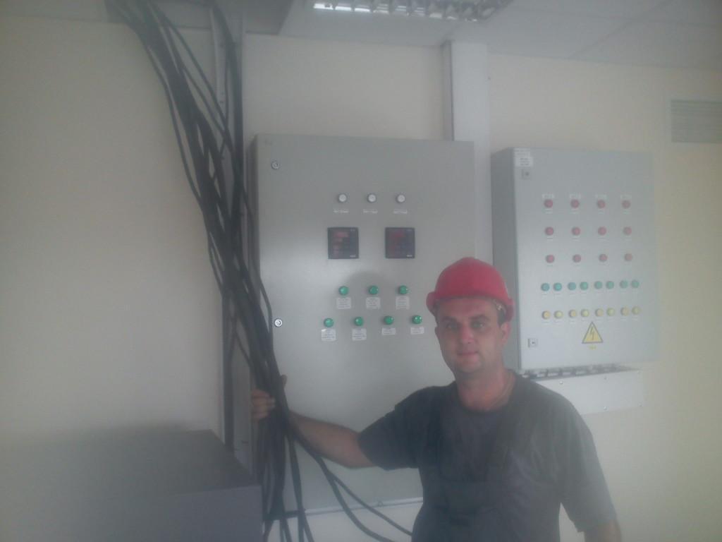 подключение шкафа управления системой электрообогрева