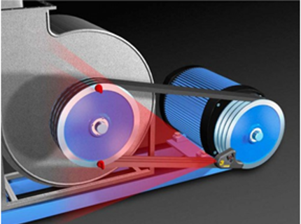 Лазерная выверка шкивов
