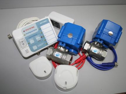 Монтаж датчиков утечки воды, газа